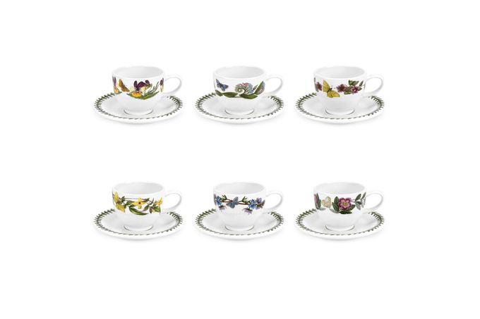 Portmeirion Botanic Garden Espresso Cup & Saucer - Set of 6 Set of 6 3.5oz