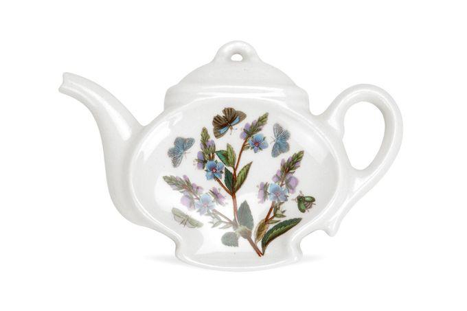 Portmeirion Botanic Garden Spoon Rest Teapot Shape