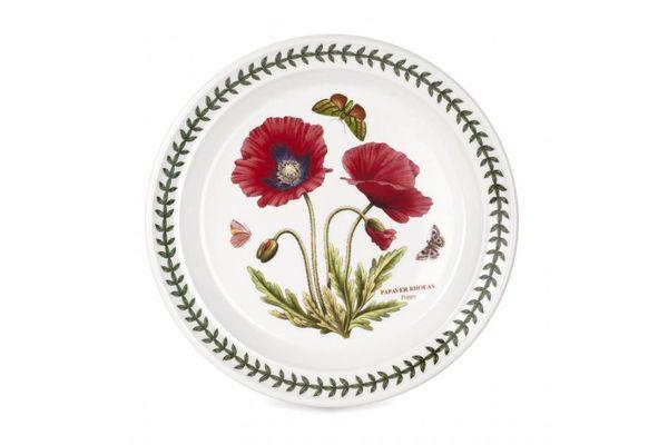 """Portmeirion Botanic Garden Salad/Dessert Plate Poppy 8 1/2"""""""
