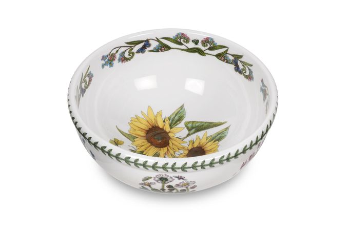 Portmeirion Botanic Garden Salad Bowl Sunflower Salad Bowl