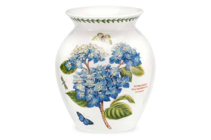Portmeirion Botanic Garden Vase Hydrangea - 40th Anniversary New Motif