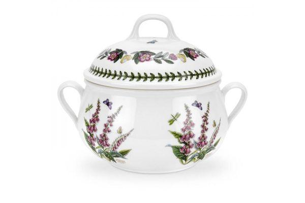 Portmeirion Botanic Garden Casserole Dish + Lid Foxglove 2.3l