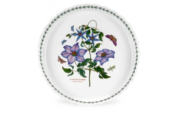 Portmeirion Botanic Garden Flan Dish
