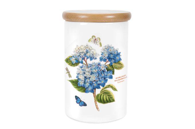 Portmeirion Botanic Garden Storage Jar + Lid Airtight 12.5 x 19.5cm