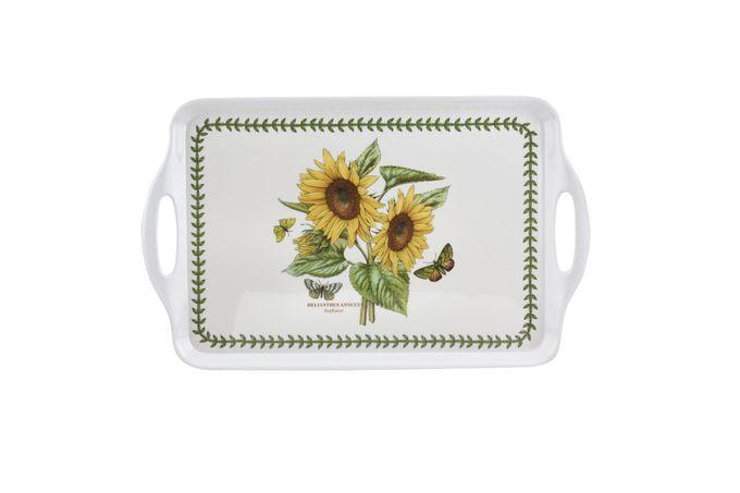Portmeirion Botanic Garden Serving Tray Large Handled Tray - Sunflower