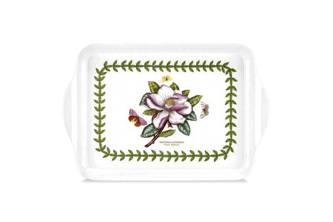 """Portmeirion Botanic Garden Scatter Tray Magnolia 8 1/4 x 5 1/2"""""""