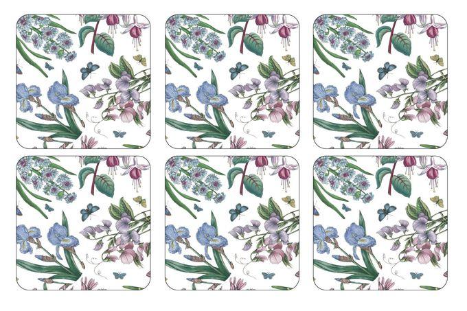 Portmeirion Botanic Garden Coasters - Set of 6 Chintz