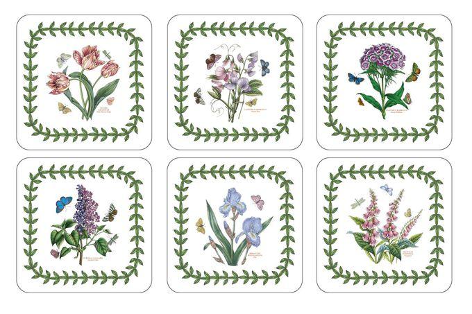 Portmeirion Botanic Garden Coasters - Set of 6