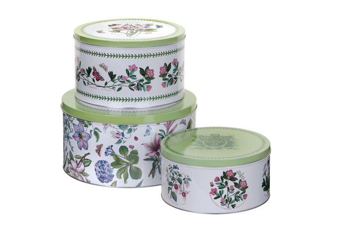 Portmeirion Botanic Garden Cake Tins (Set of 3)