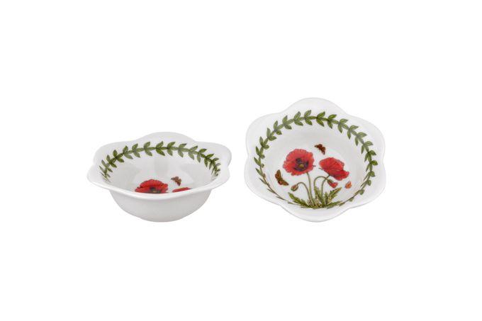 Portmeirion Botanic Garden Bowl Set Set of 2 Dip Bowls or Tealight Holders