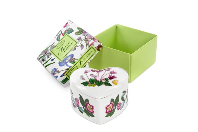 Portmeirion Botanic Garden Trinket Box Heart