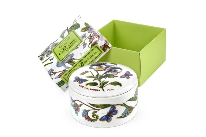 Portmeirion Botanic Garden Trinket Box Round