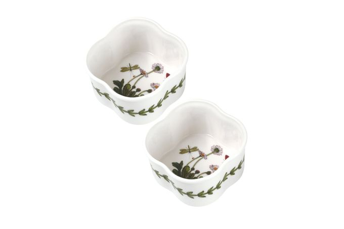 Portmeirion Botanic Garden Ramekin Scalloped - Set of 2