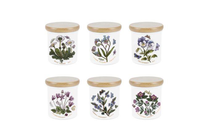 Portmeirion Botanic Garden Spice Jar - Set of 6