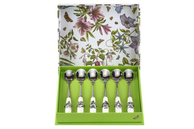 Portmeirion Botanic Garden Tea Spoon Set Set of 6