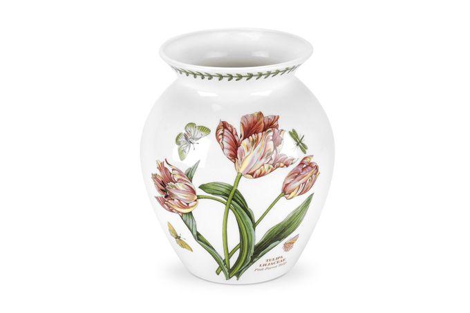 Portmeirion Botanic Garden Vase Pink Parrot Tulip 20cm