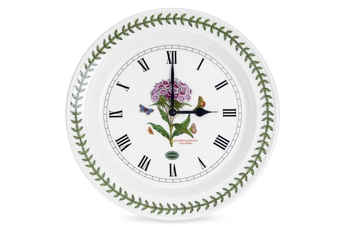 Portmeirion Botanic Garden Wall Clock Sweet William