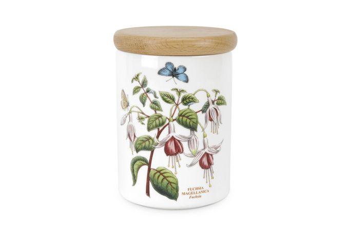 """Portmeirion Botanic Garden Storage Jar + Lid Fuchsia 3 3/4 x 5"""""""