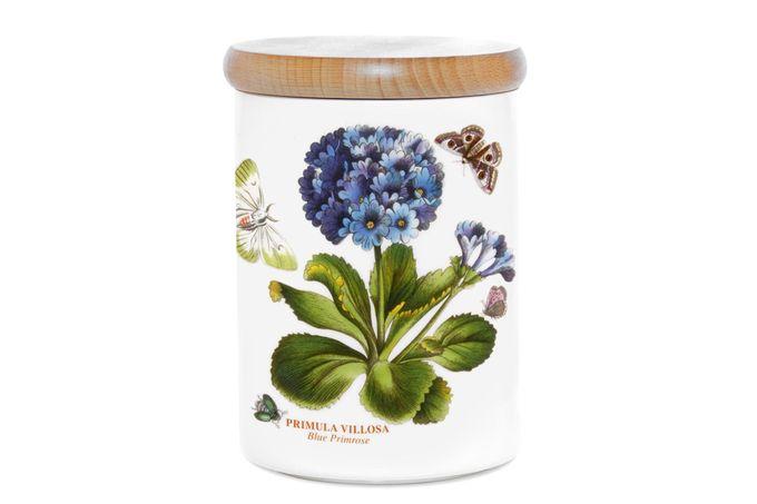 "Portmeirion Botanic Garden Storage Jar + Lid Primula 3 3/4 x 5"""