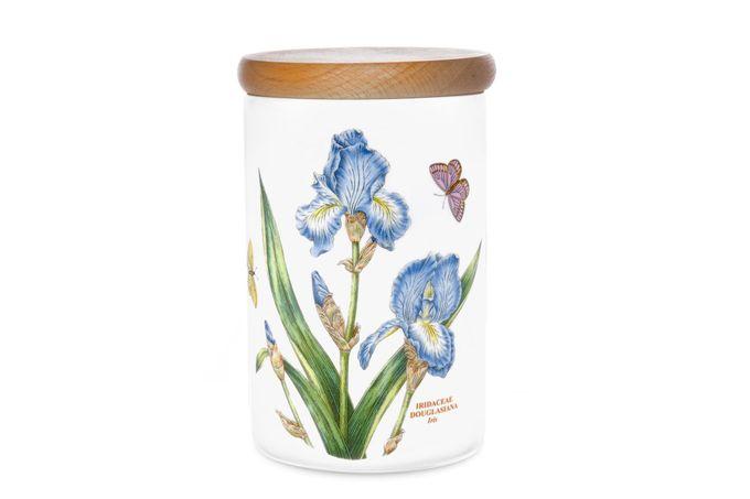 Portmeirion Botanic Garden Storage Jar + Lid Iris