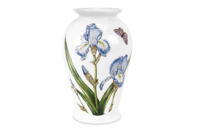 Portmeirion Botanic Garden Vase Iris - Canton Vase 18cm