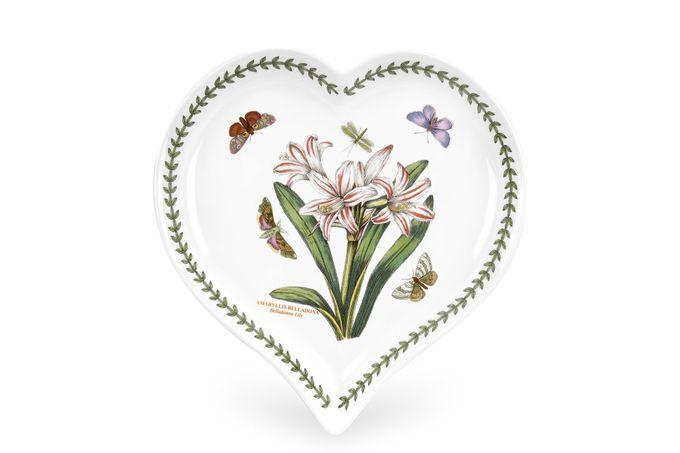 Portmeirion Botanic Garden Heart Dish Belladonna Lily 23 x 20cm