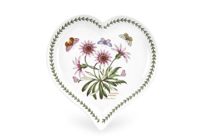 Portmeirion Botanic Garden Heart Dish BGHU46200 23 x 20cm