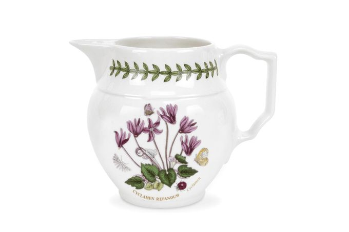 Portmeirion Botanic Garden Jug Cyclamen - Staffordshire Jug 0.6l