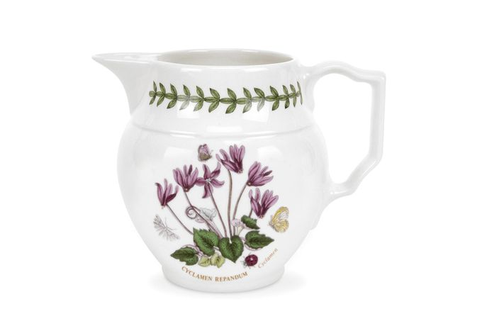 Portmeirion Botanic Garden Jug Cyclamen - Staffordshire Jug 0.3l