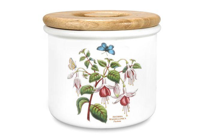 """Portmeirion Botanic Garden Storage Jar + Lid Fuchsia 7 x 6"""""""