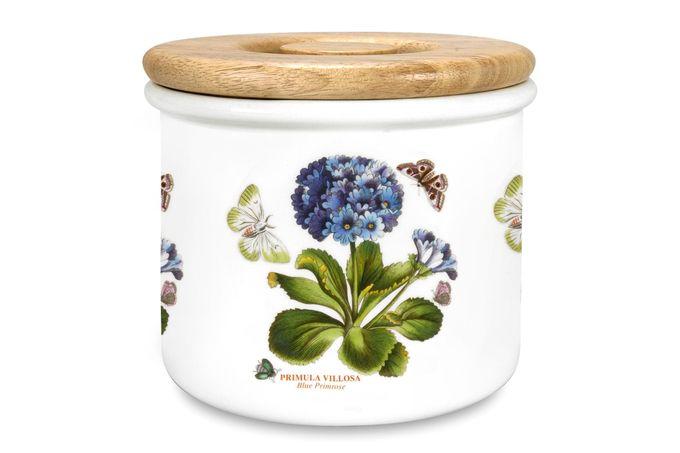 "Portmeirion Botanic Garden Storage Jar + Lid Primula 7 x 6"""