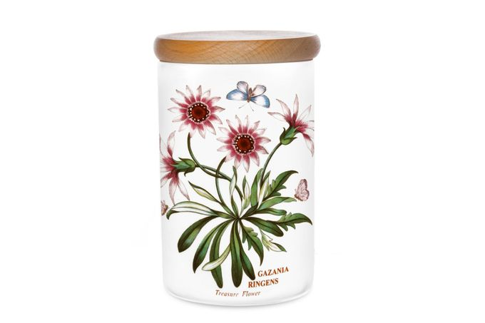 Portmeirion Botanic Garden Storage Jar + Lid Treasure Flower