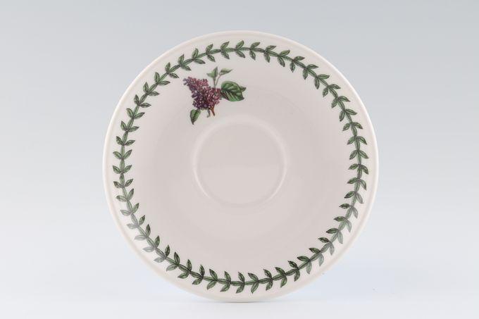 "Portmeirion Botanic Garden Tea Saucer Romantic Shape - Lilac 6"""