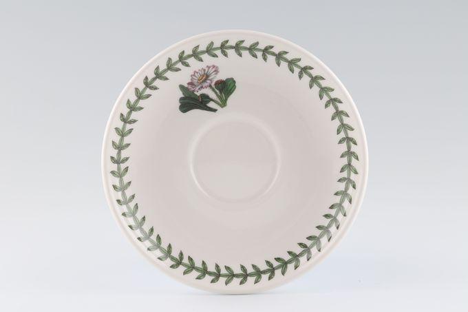"""Portmeirion Botanic Garden Tea Saucer Romantic Shape - Daisy 6"""""""