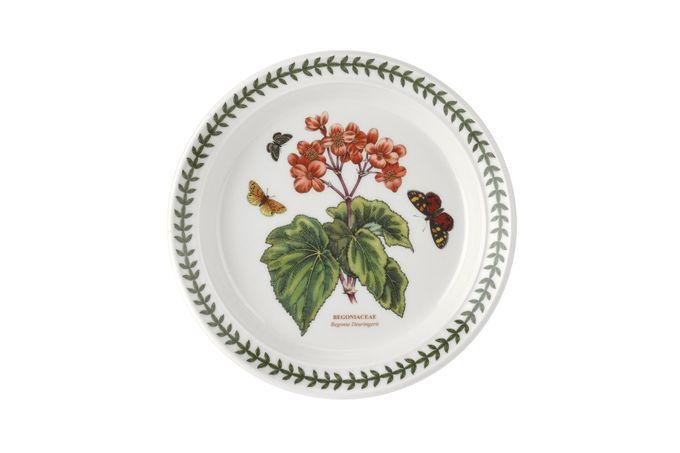 "Portmeirion Botanic Garden Salad/Dessert Plate Begonia 8 1/2"""