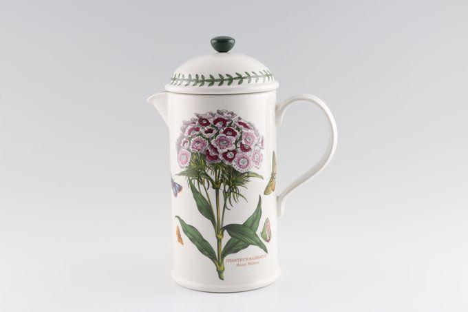 Portmeirion Botanic Garden Cafetiere Dianthus Barbatus - Sweet William 1 1/2pt