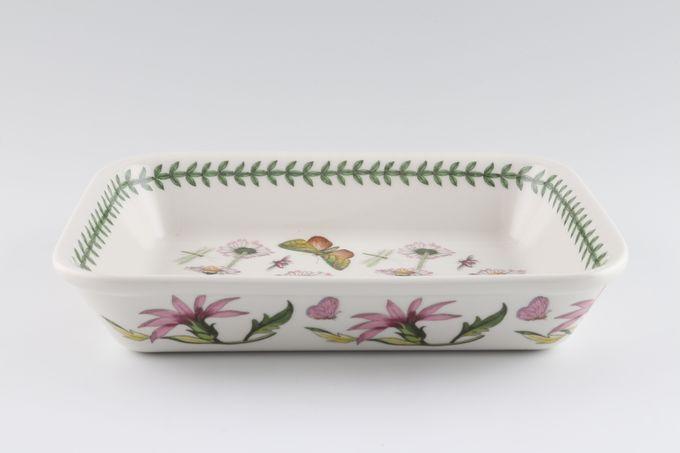 "Portmeirion Botanic Garden Lasagne Dish Daisy 8 1/2 x 6 1/4"""