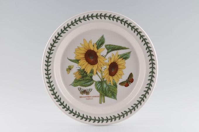 """Portmeirion Botanic Garden Dinner Plate Helianthus Annuus - Sunflower - named 10 1/2"""""""