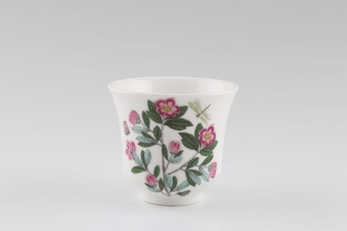"Portmeirion Botanic Garden Candle Holder Rhododendron Lepidotom 2 3/4 x 2 1/2"""