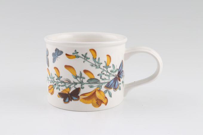 "Portmeirion Botanic Garden Teacup Drum Shape - Cytisus Scoparius - Broom 3 1/4 x 2 5/8"""