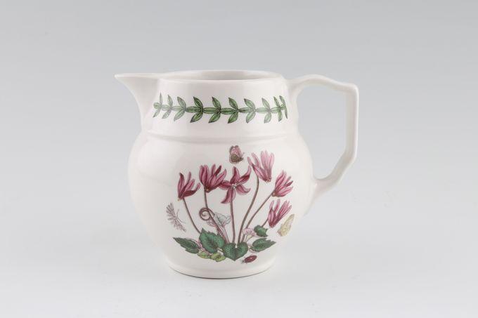 Portmeirion Botanic Garden Milk Jug Staffordshire Jug -Cyclamen Repandum- no name 1/2pt