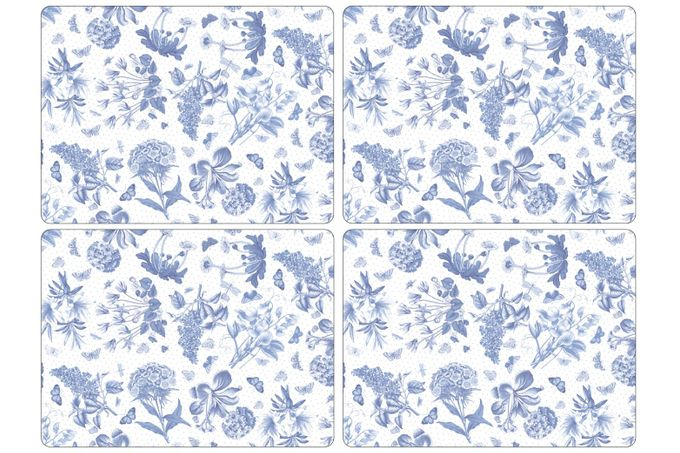 Portmeirion Botanic Blue Placemat Set of 4