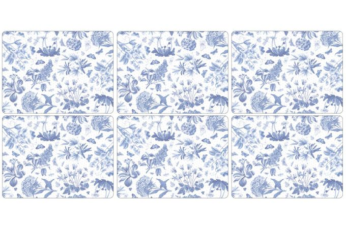 Portmeirion Botanic Blue Placemat Set of 6