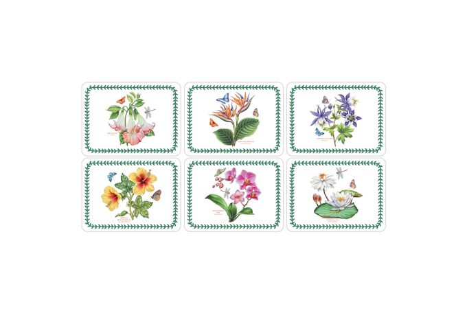 Portmeirion Exotic Botanic Garden Placemat Set of 6
