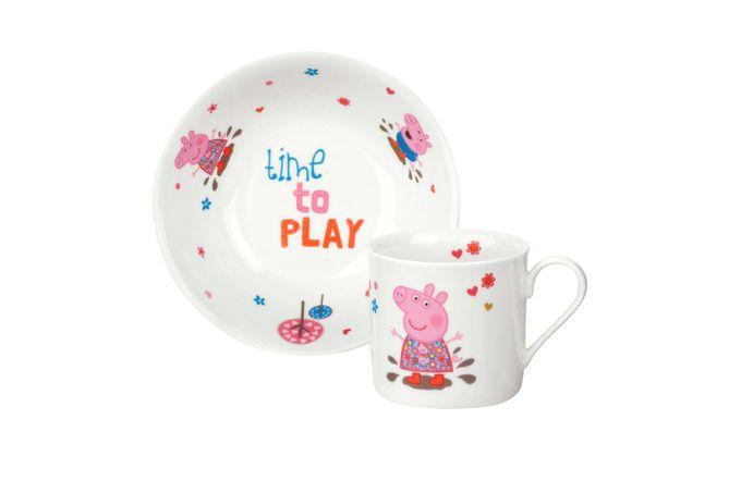 Portmeirion Peppa Pig 2 Piece Set Bowl 16cm, Mug 0.2L