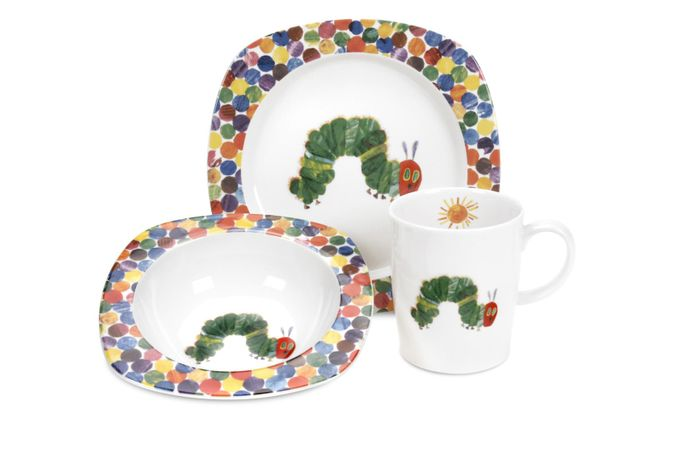 Portmeirion The Very Hungry Caterpillar by Eric Carle 3 Piece Set