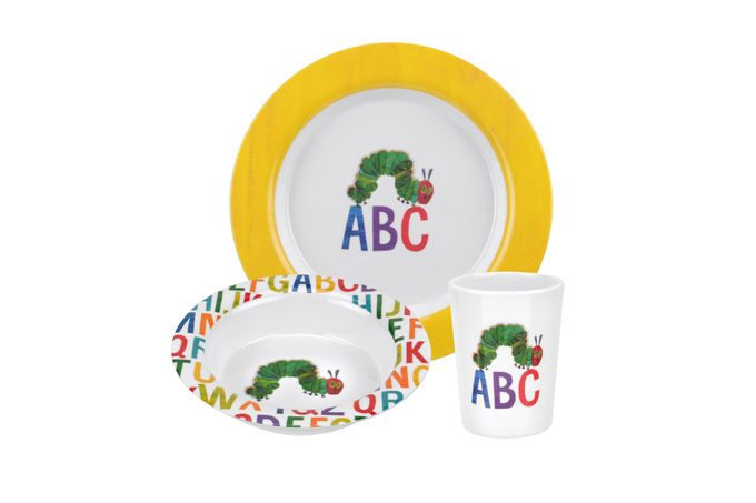 Portmeirion The Very Hungry Caterpillar by Eric Carle 3 Piece Set ABC