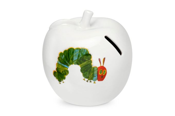 Portmeirion The Very Hungry Caterpillar by Eric Carle Money Box Apple