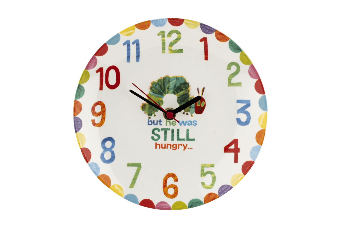 Portmeirion The Very Hungry Caterpillar by Eric Carle Clock thumb 1