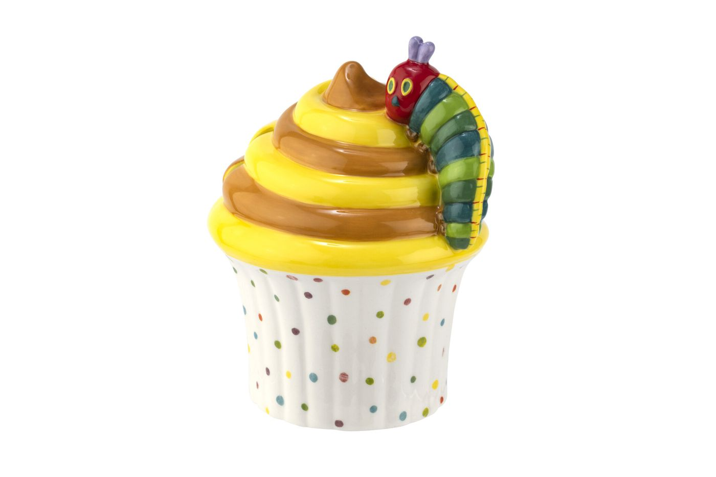 Portmeirion The Very Hungry Caterpillar by Eric Carle Money Box Cupcake thumb 1